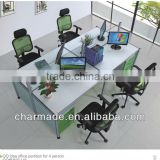 On sale modern QQidea used glass office partition desk room dividers                                                                         Quality Choice