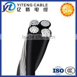 aluminum or copper 35/ 70/ 150/ 240/ 300/ 400 sq mm three phase power cable