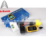 Fishing reduisite tool Portable Fish Finder Depth Sonar Sounder Alarm Transducer Fishfinder sonar