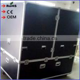 1.8m mirror ball used aluminum flight case storage box dj flight case road cases with wheels