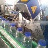 30W USA laser marking machine PET bottle/PVC pipelines/pharmaceutical package