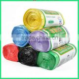 Shandong black HDPE plastic garbage bag on roll manufacturer plastic trash bag ldpe garbage bags