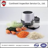 powerful electric food/vegetable/fruit chopper,slice machine,inspection agency in Zhejiang,preshipment inspection,QC/QA