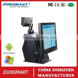 Hot sale capacitive touch screen pos cash register, Android POS system with cash drawer, printer