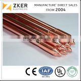 "5/8"" 3/4"" Electric Copper Clad Steel Earth Rod"