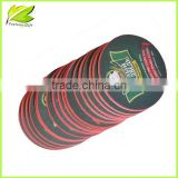 new design absorbant full color printing beer paper coaster