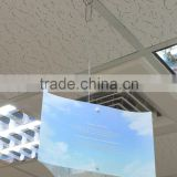 Ceiling display POP plastic sign holder or Ceiling display tools or Ceiling display sign holder