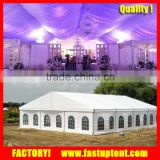 second hand permanent wedding party marquee tent with wooden floor in Shenzhen Guangzhou Shanghai                                                                         Quality Choice