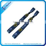 2014 Cheap customized party vip wristbands with strong lock