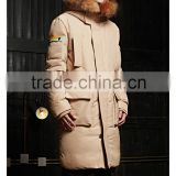 fashion mens hooded anorak winter goose down jacket