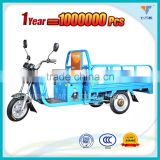 China open body cargo electric tricycle, 60v 800w three wheel electric bicycle, CCC approved battery powered auto-rickshaw