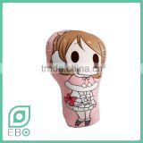throw pillowcases maternity digital print cushion cover love live! Hanayo Koizumi irregular shape plush cushion