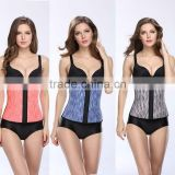 Women 9 Steel Boned Body Shaper Corset Underbust Sport Trainer Cinchers