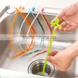 hot plastic cleaning tools toilet drain pipe cleaners/plastic pipe cleaner / kitchen pipe cleaner