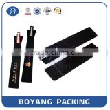 Flocking Ball Pen Bag for present with potato rice coffee shopping brand sales promotion Boyang Pack Manufacturer