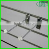 New!!! Fashion accessories slat wall security hooks