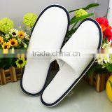 Cotton Velour Close Toe Hotel Slippers,Disposable Hotel Towel Slippers,Hotel Amenities Slippers,Hotel Bathroom Slippers
