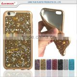 electroplating beautiful stone and diamond funky mobile cell phone case for oppo r7s r831k n1