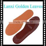 3mm latex foam leather material shoes sole for women dance shoes anti-odour comfort shoe insole