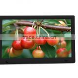 New products 32inch battery operated lcd video player digital photo frame for superStore advertising