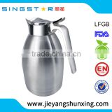 New design 304 stainless steel kettle