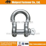Supply good quality and cheap price carbon steel/Stainless steel straight D shackle