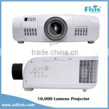 3 LCD 1920X1200 Pixels WUXGA 4K Large Venue Hologram Advertising 3D High lumens 10000 Lumens outdoor projector