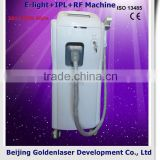 2013 New design E-light+IPL+RF machine tattooing Beauty machine hand-painted mannequin head