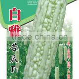 Hybrid bitter melon seeds Bitter gourd seedsfor growing-White jade