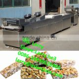 crunchy rice candy making machine/peanut candy forming machine/peanut candy bar making machine