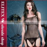 Wholesale Black Lace Garter Sexy Body Stocking Woman Fashion Lingerie