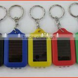 LED Solar Torch Keychain , Flashlight