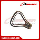 Hot sales 1''800kgs Double J Metal Hook welded for ratchet hook lashing
