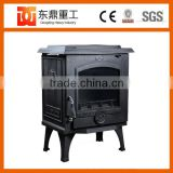 Hot Sale modern design wood burning stove/cast iron fireplace with home using traditional style