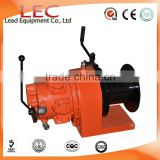1 ton High Quality Portable Hand Brake Air Pneumatic Winches used for Mine or Construction