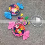 new products headwear colorful candy box package hair bands elastic hair tie