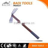 high carbon steel multifunction small garden farming hoe and rake