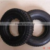 semi-pneumatic rubber tire