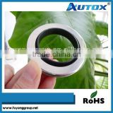 55*72*8 mm Rotary Shaft Oil Seal With Single PTFE Sealing Lip Stainless Steel Ring For Compressors