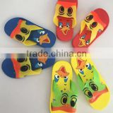 Wholesales indoor bathroom childrens kid shoes slides cartoon slipper stock lot closeout