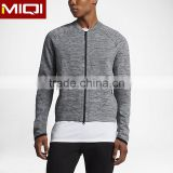 2017 wholesale customize sports jacket gym wear men with finish design men hoodie jacket