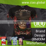 Ciao sportswear alibaba online shopping heat transfer printing blank sublimation t shirt wholesale for kid