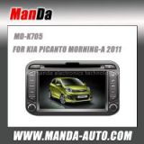 good quality car stereo for KIA PICANTO MORNING-A 2011 in-dash dvd factory navigation car multimedia autoradio