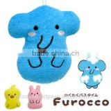 Kids Cotton Bath Sponge Rabbit / Elephant / Duck Wholesale