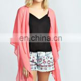India Sheer Kimono casual jacket/Women casual jacket/clothing supplier china/wholesale apparel model cp-351