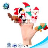 Christmas Series finger puppet set custom cute Christmas animal finger puppets and story