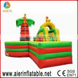 Cocoa inflatable obstacle course with slide for kids