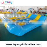 Inflatable Floating Leisure bed , Water play equipment Factory Outlet air water lsland