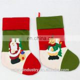Factory Direct OEM Wholesale Fashion bucilla christmas stocking kits With Father Christmas and Reindeer Decoration