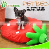 Strawberry pe bed /pet mat